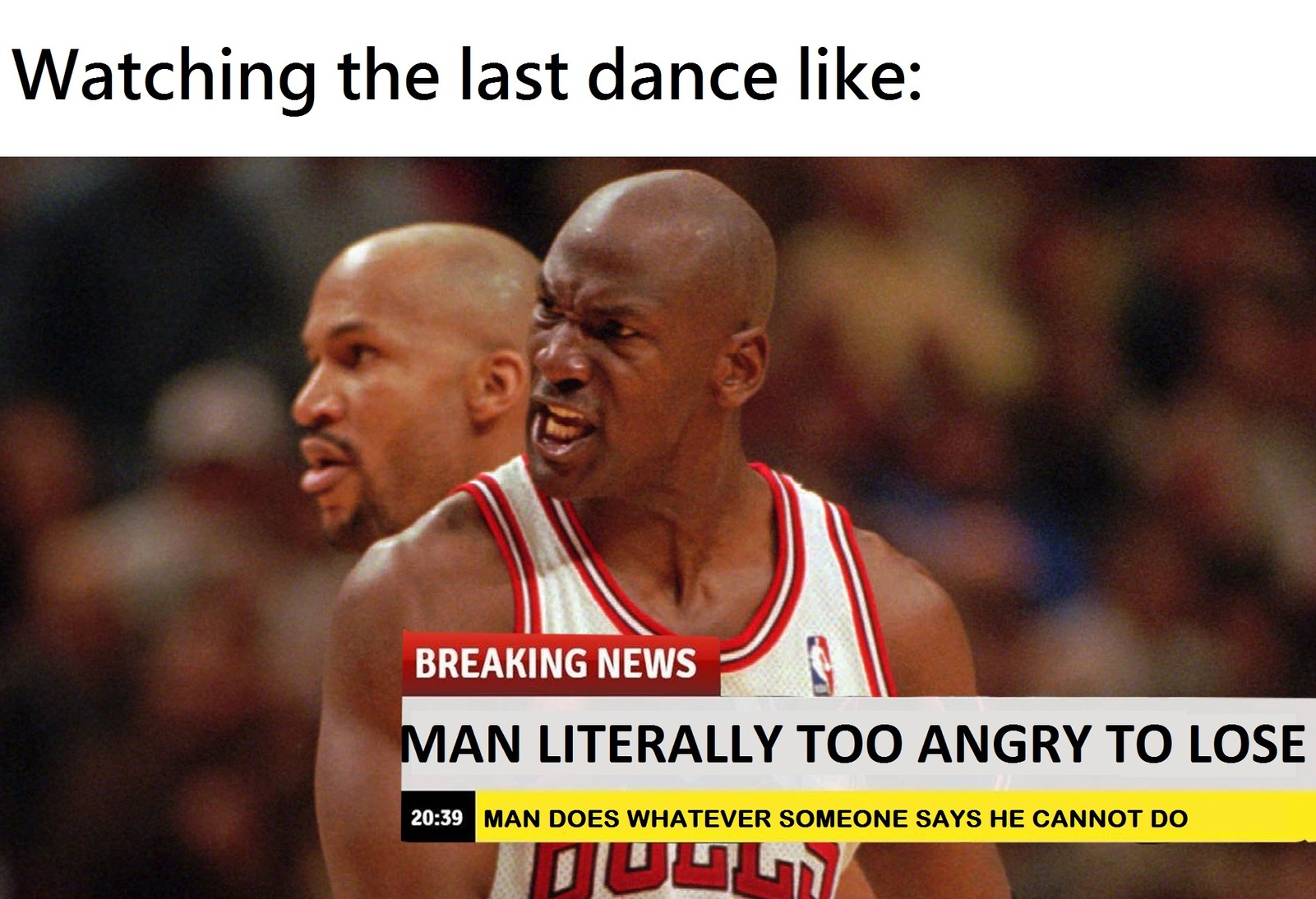 last dance is pretty good - meme