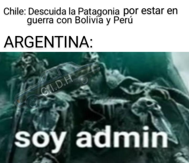 La Patagonia es Argentina xd - meme