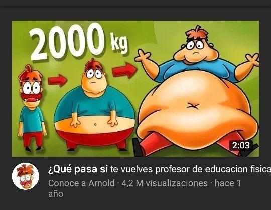 tipico de educacion fisica - meme