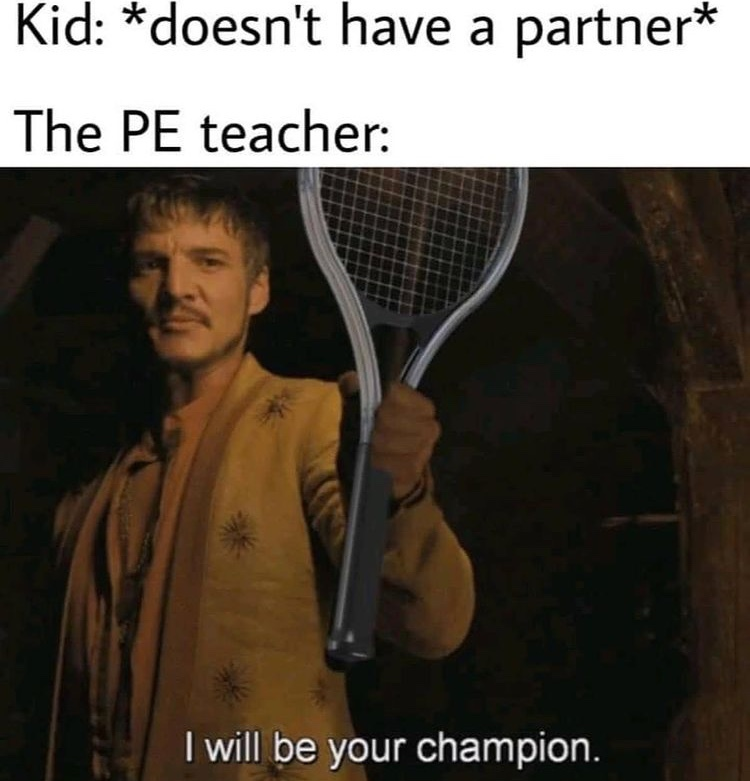 I will be your champion - meme