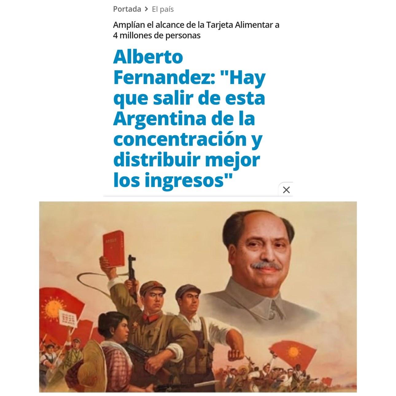 Alberto Fernández es el presidente de la Argentina para los que no lo sabian - meme