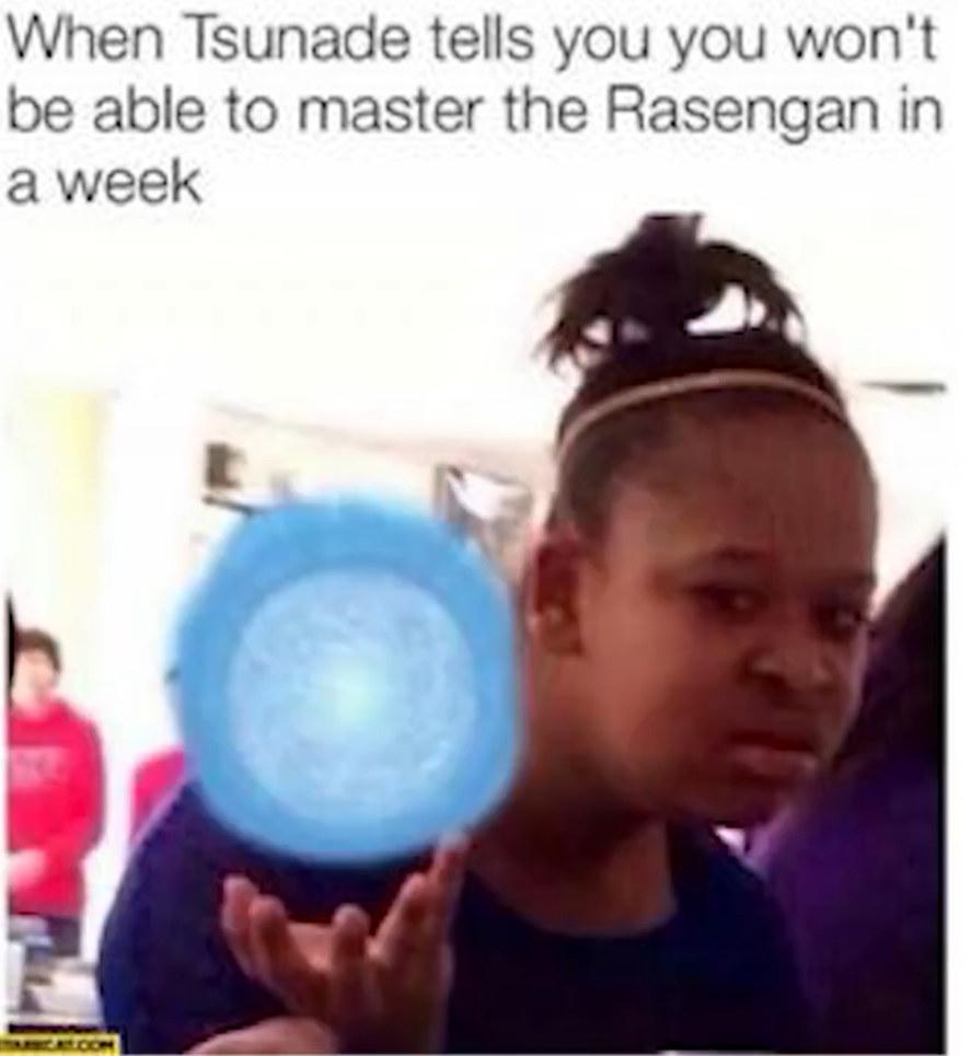Naruto - meme
