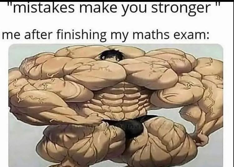 huge muscles - meme