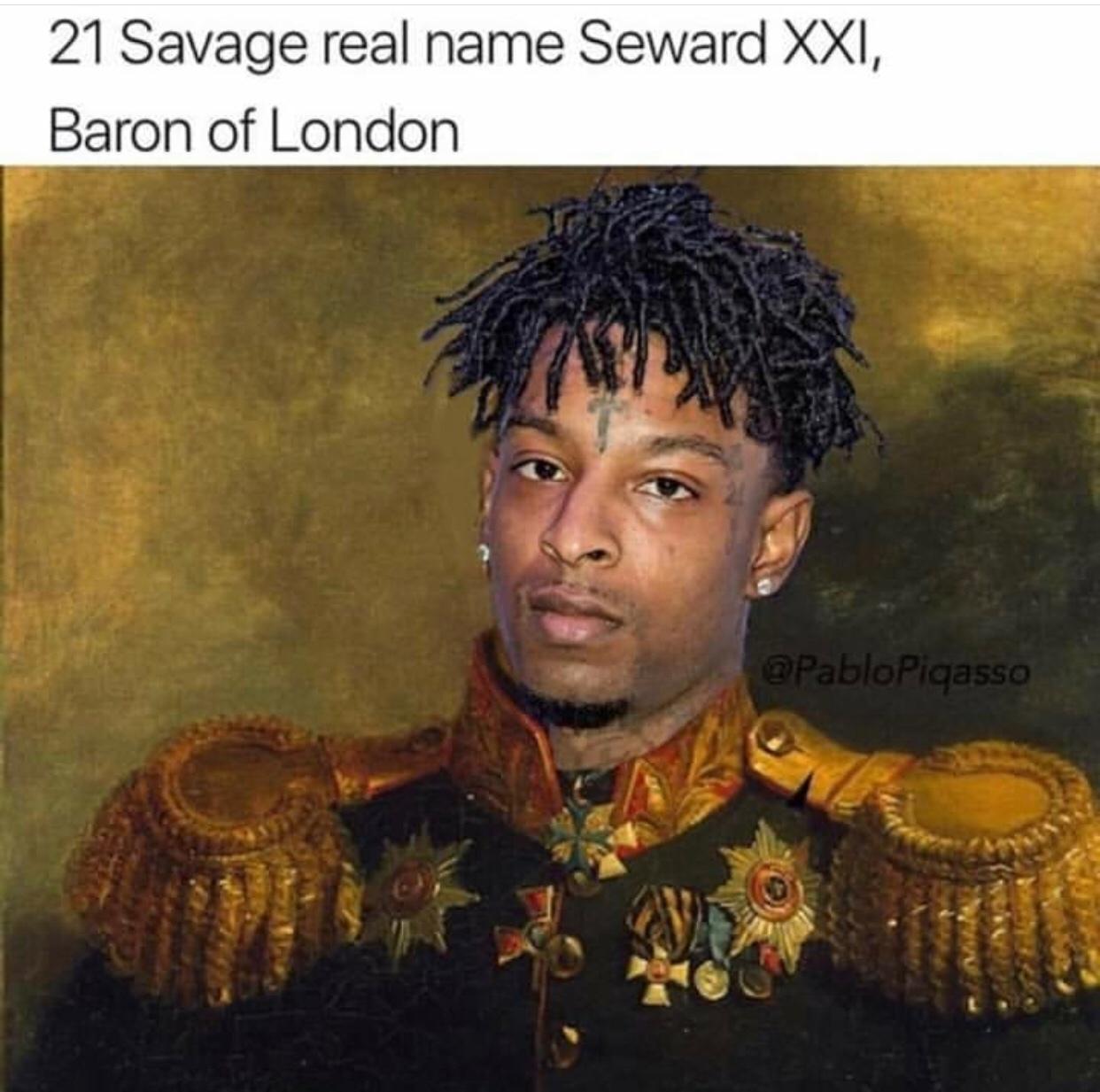 21st Savage - meme