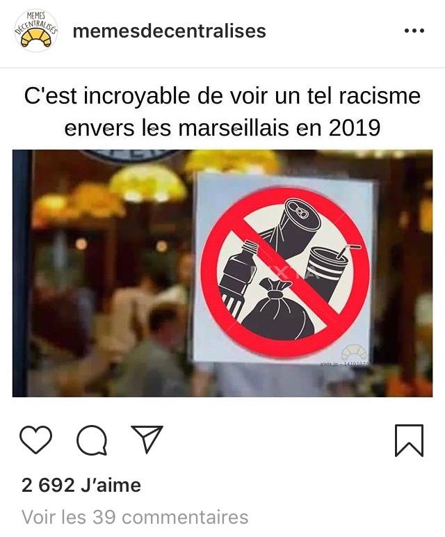 stop au racisme - meme
