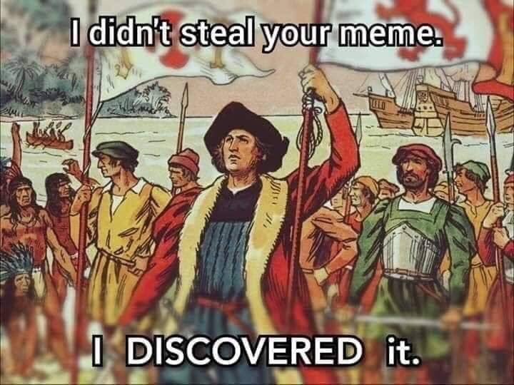 when someone says you stole a meme