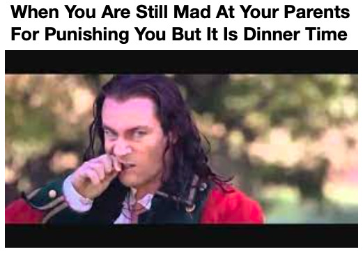 Eating When You Are Mad - meme