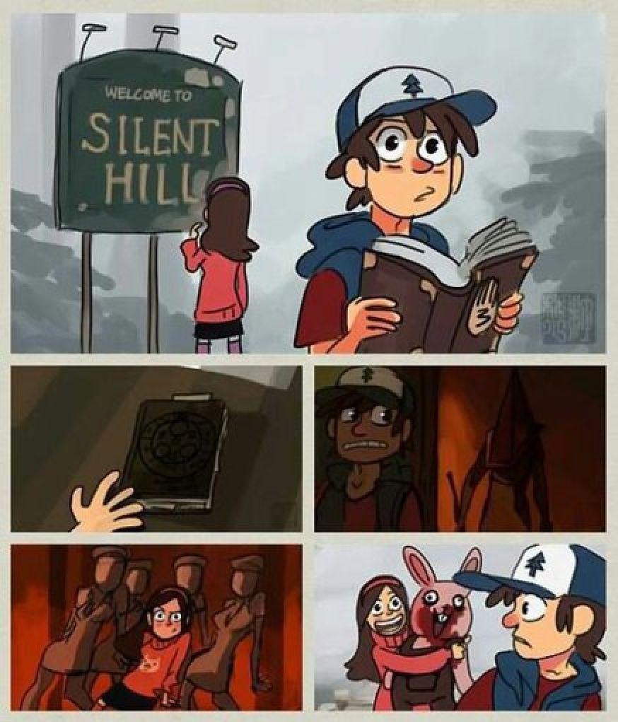 Silent hill - meme