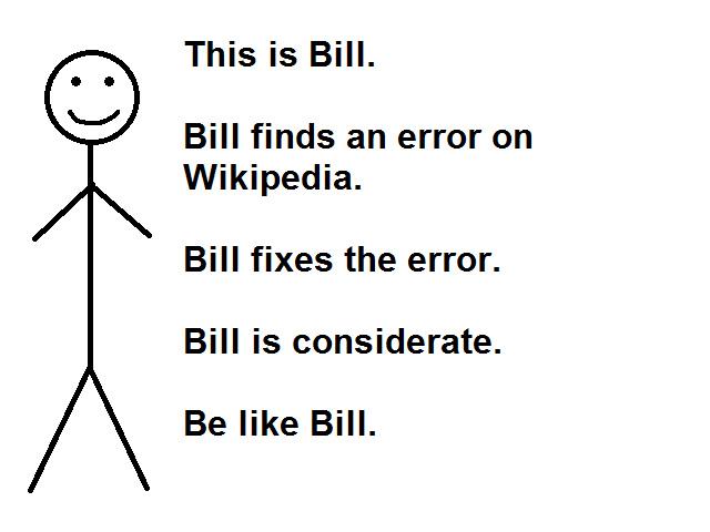 Be like bill - meme