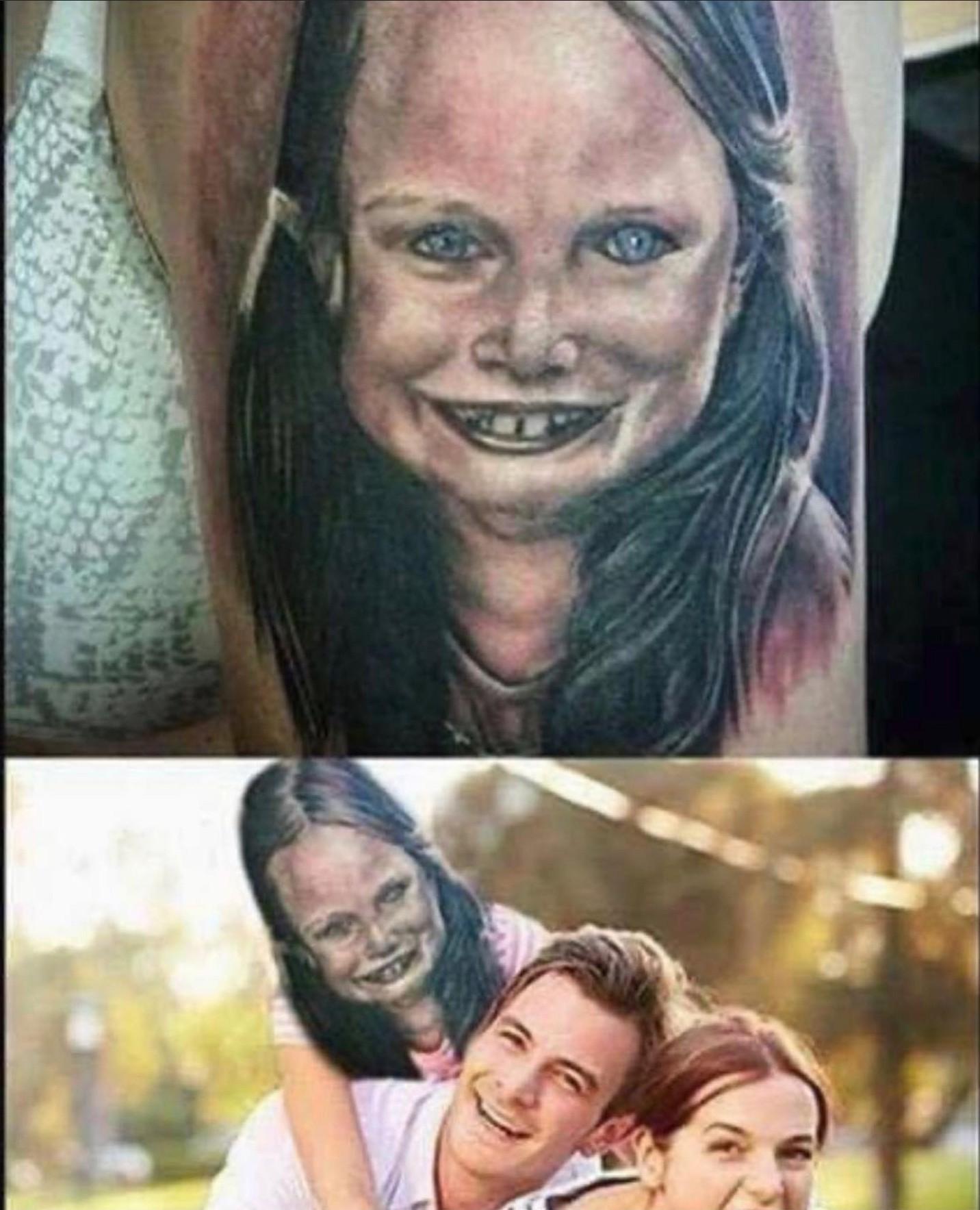Such a beautiful tattoo - meme
