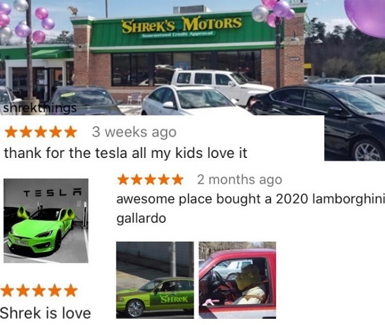 shrekmobile - meme