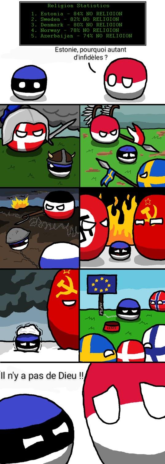 Une petite pensée pour l'Estonie - meme