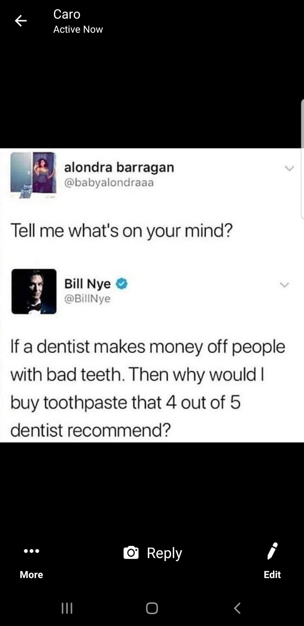 Dentist are planning against us - meme