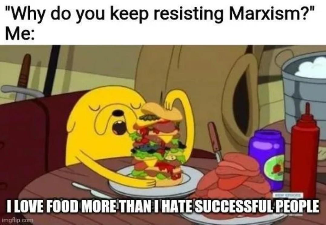 Food is love, food is life. - meme
