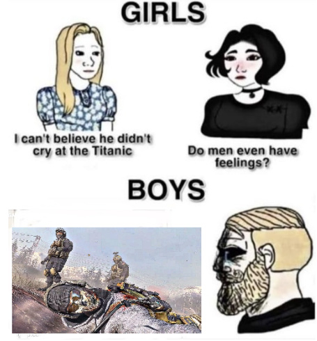 saddest cod moment - meme