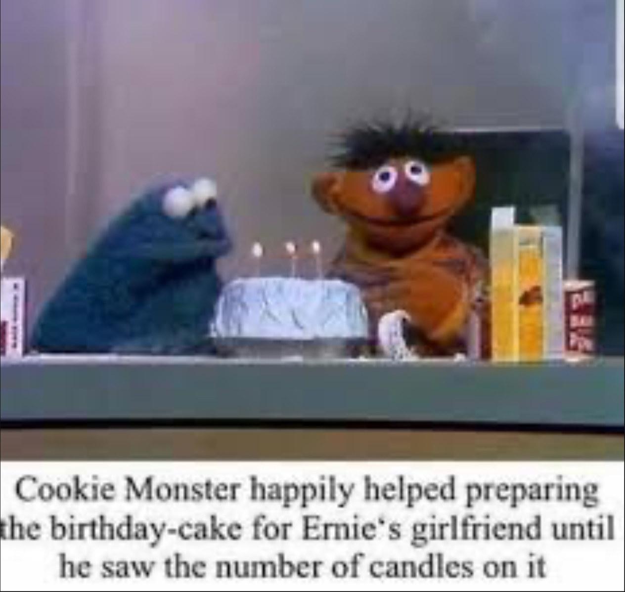 No more cookies - meme