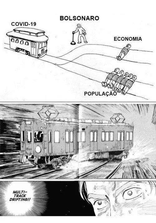 Bolsomito salvando a economia e o povo - meme