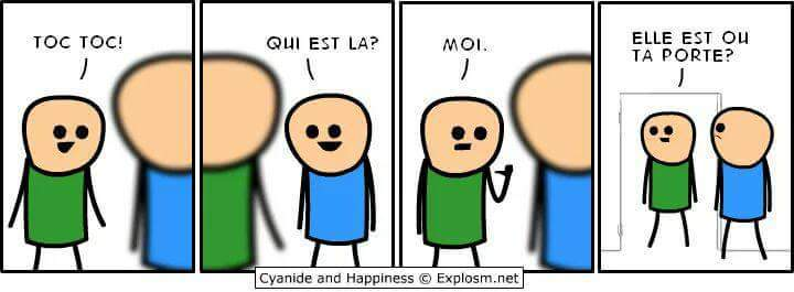 Quand Cyanide and happiness - meme