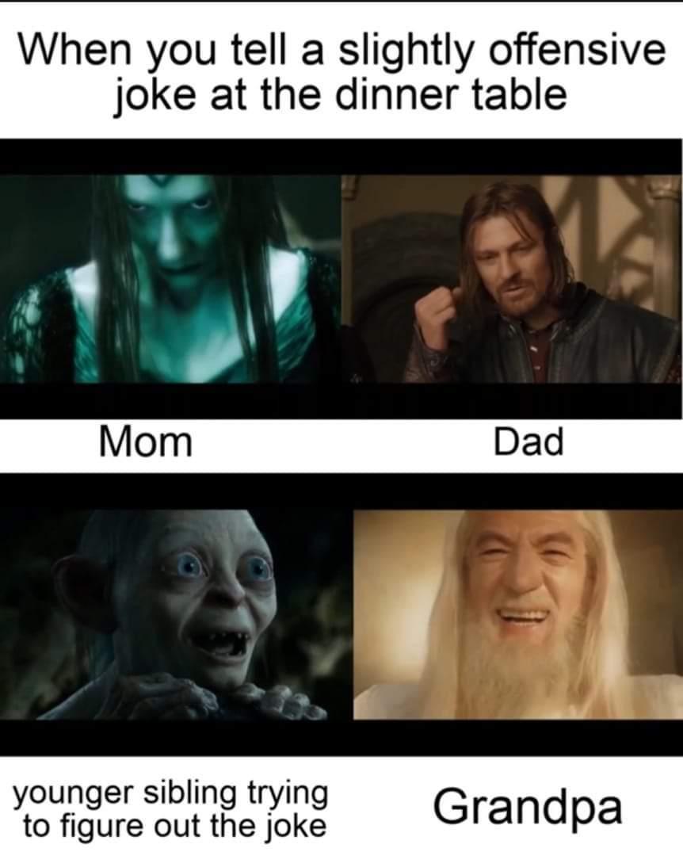 Family Jokes - meme