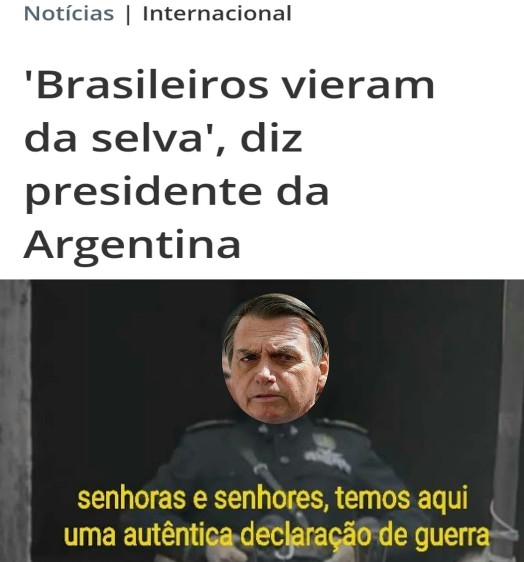 OBrasilalcançou aposiçãode 13° no ranking mundial das potênciasmilitares - meme