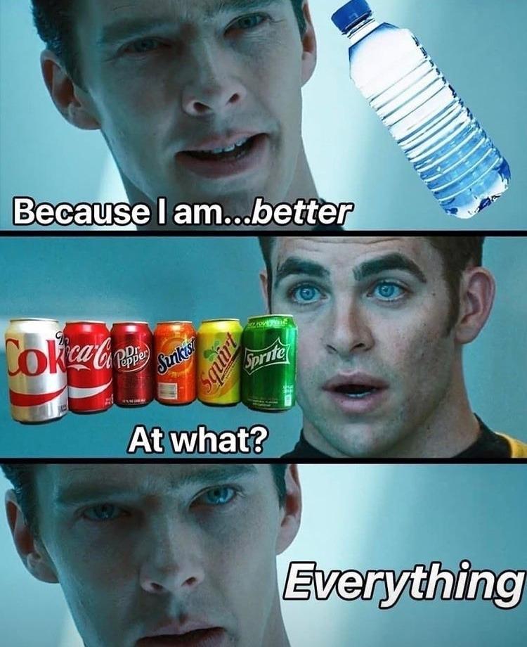 water master race - meme