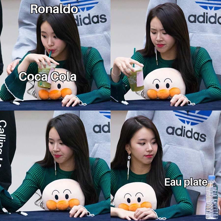 J'aime pas le coca vive pepsi - meme