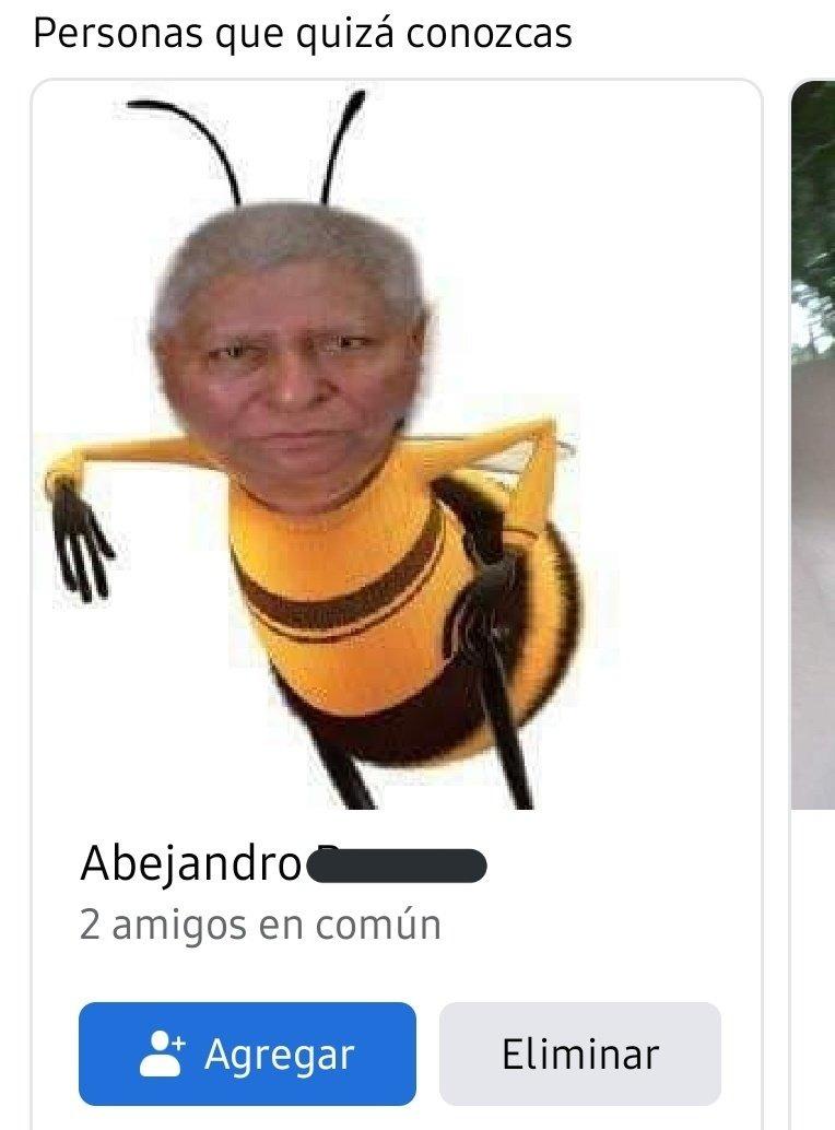 Mi pana Abejandro - meme