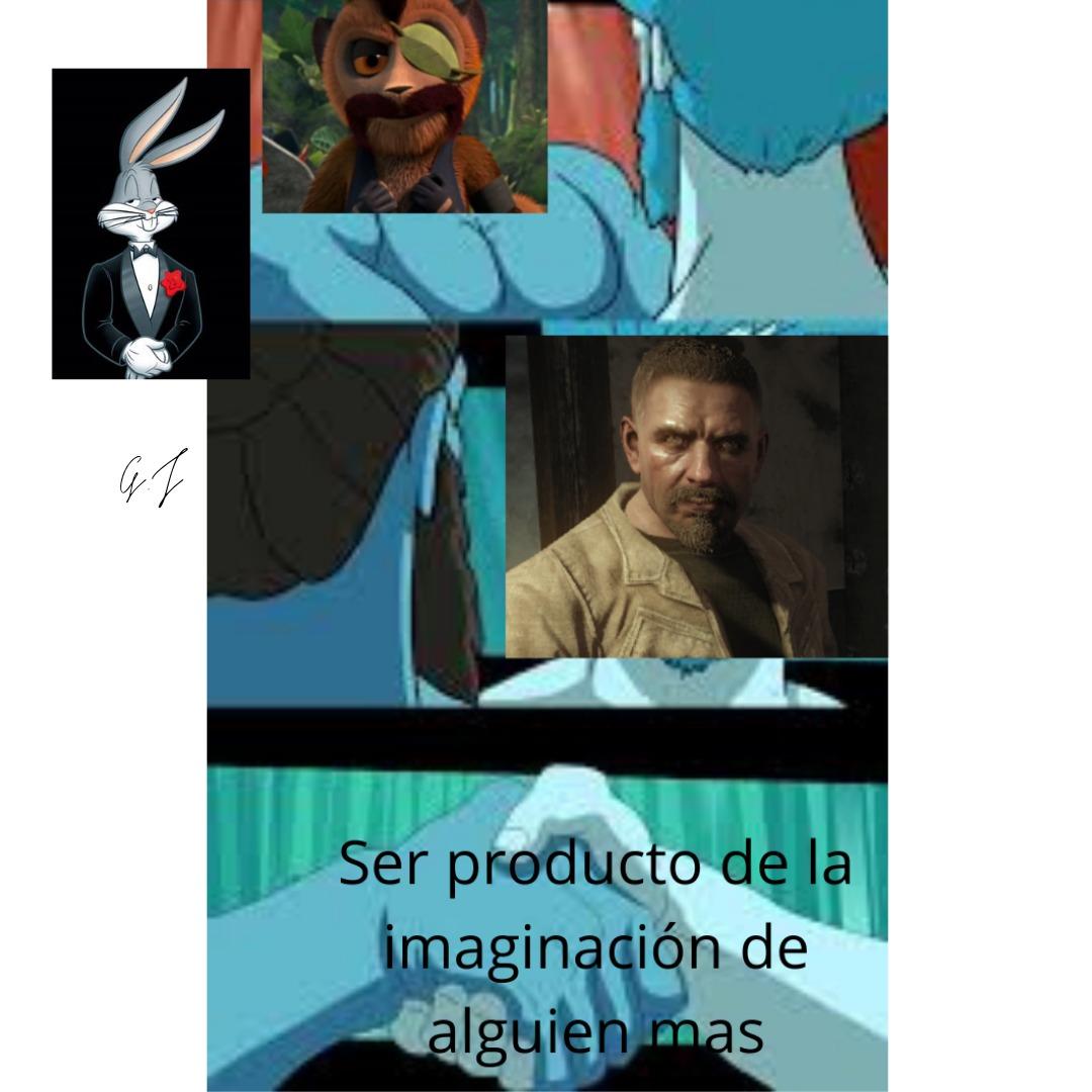 Reznov y Culebra unos capos (bocvoni es mi marca de agua) - meme