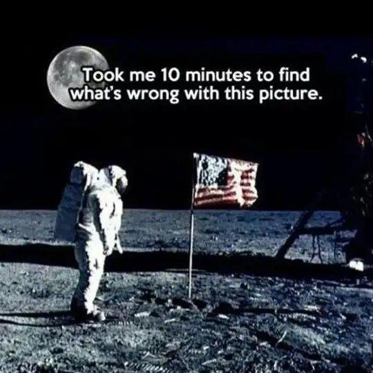 The Moon Landing Was Fake - meme