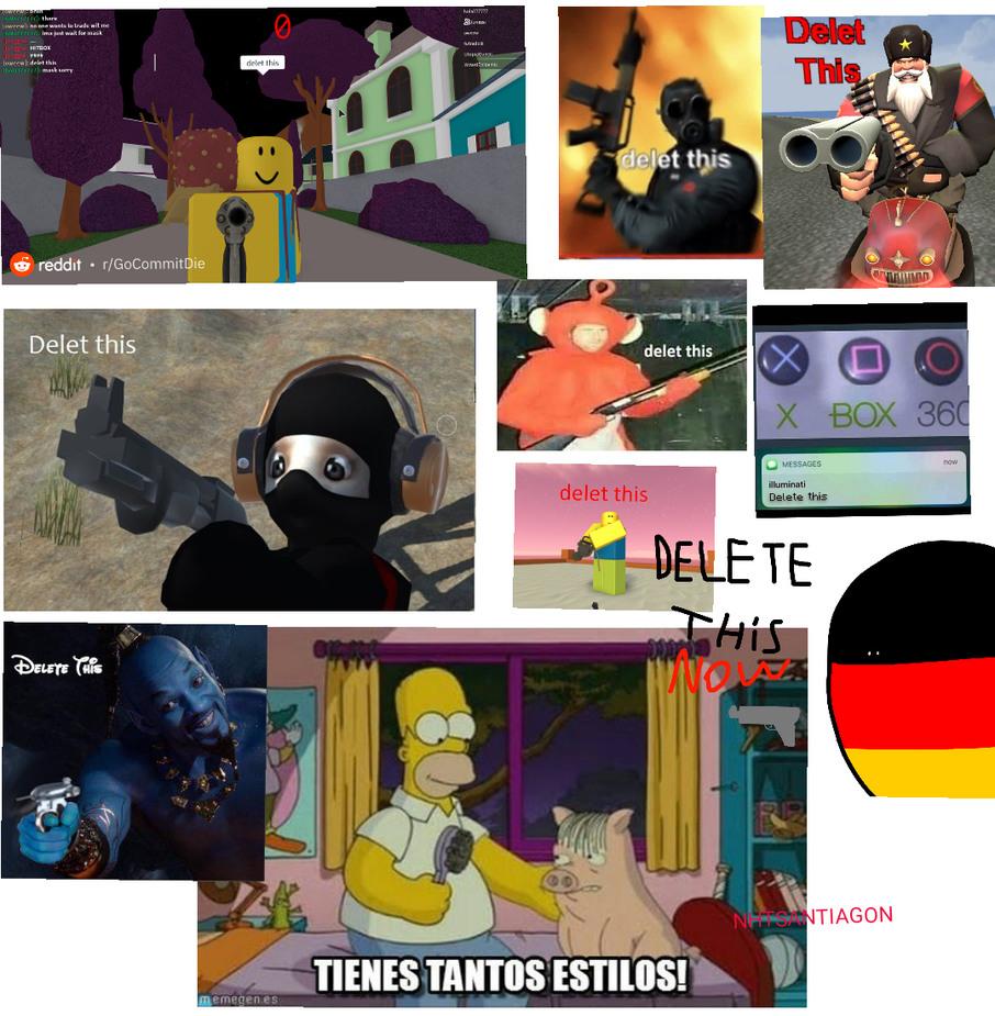D E L E T E  T H I S (la idea ya se uso?) (Si esta sobrevalorado piensen 1 en los de otakus :happy: - meme