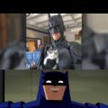 Batman is proud of this man.