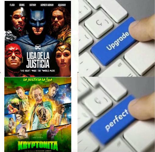 La justicia la liga - meme