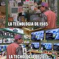 La tecnologia de 1985 VS La tecnologia de 2015