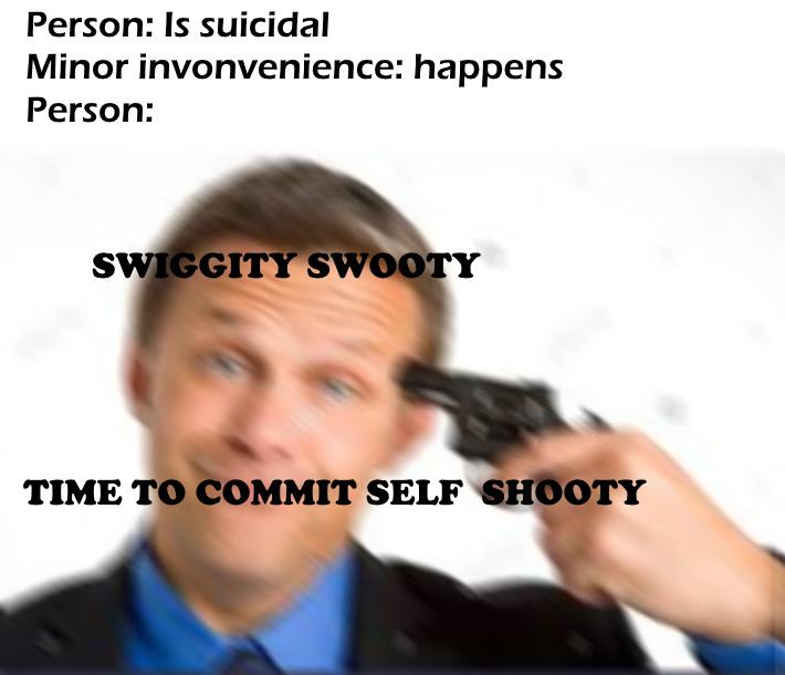 self shooty - meme