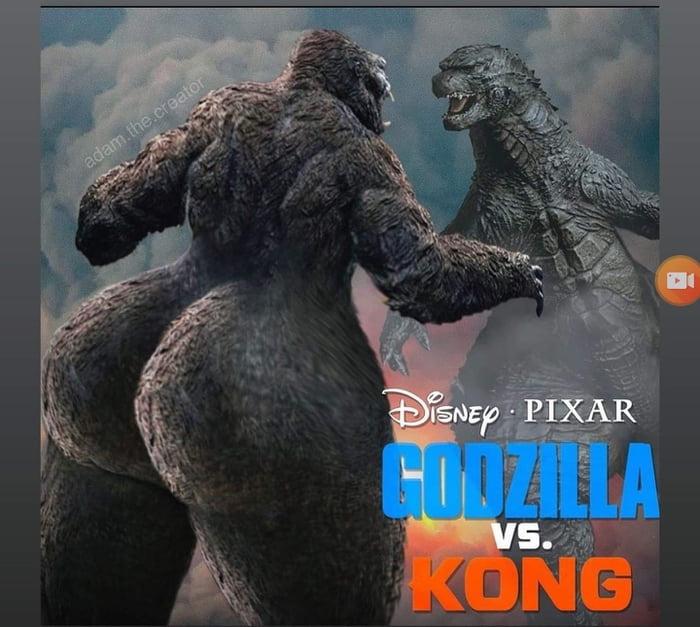 Godzilla vs Kong - meme