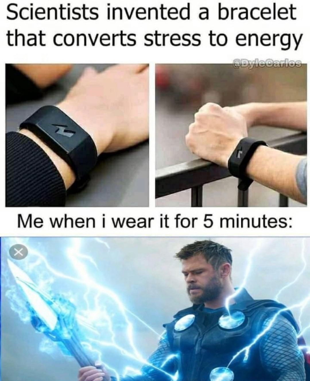 title is Fucking stressed - meme