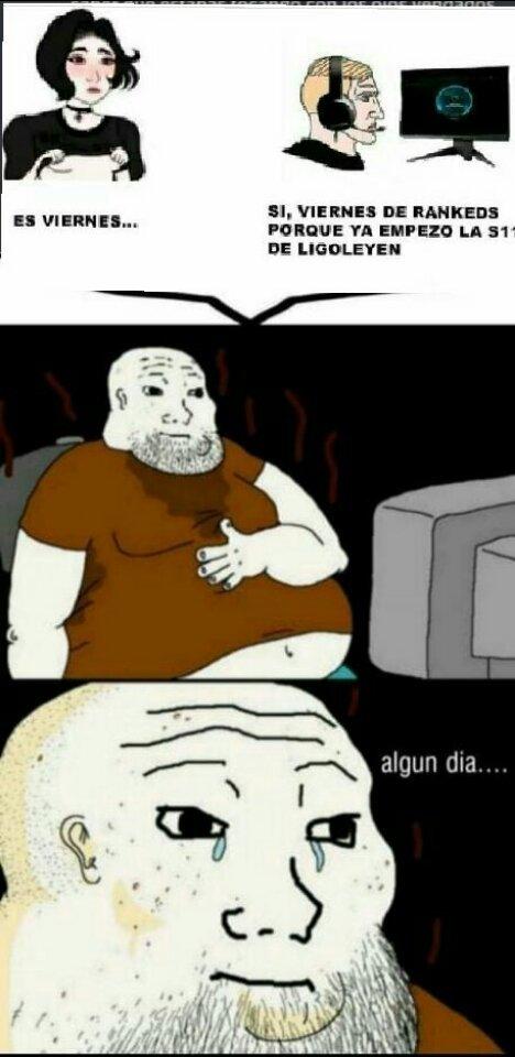 LoL=gordos=gracioso por favor rianse necesito comer:( - meme
