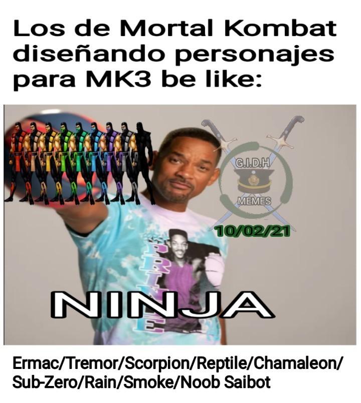 Otro Momo de mortal Kombat, perdón por el anterior que veo fue una cagada - meme