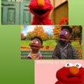 Elmo no racist, I has black friends