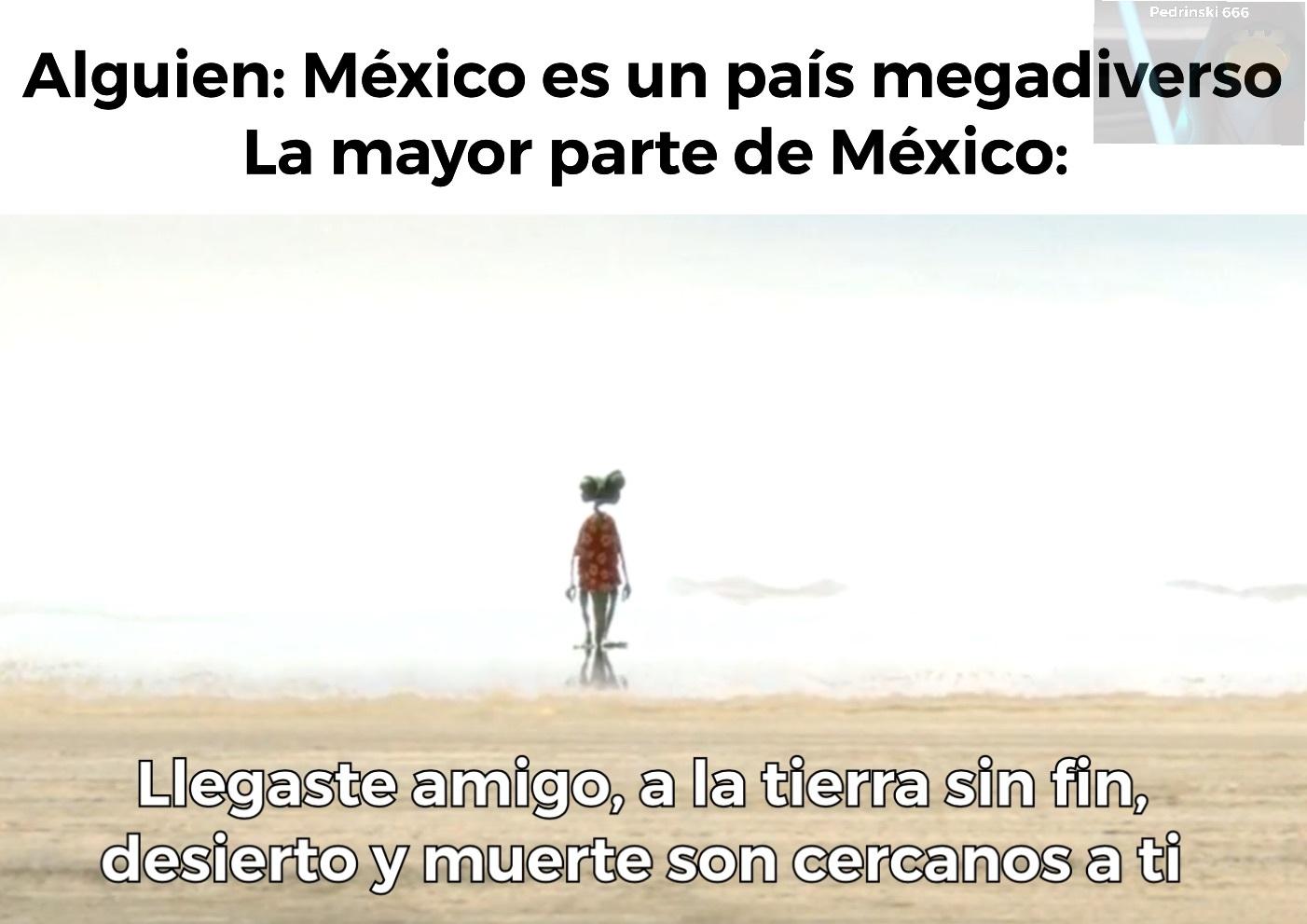 México es un país muy diver... *lo asaltan* - meme