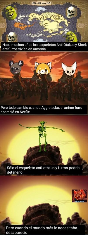Aggretsuko es muy buen anime c: - meme