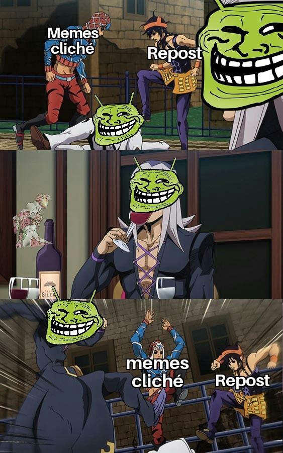 Memes cliché como este