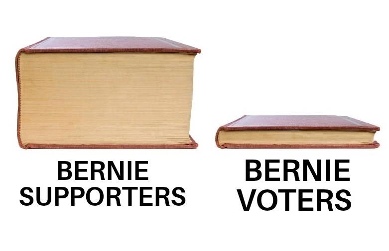 Sorry Bern - meme