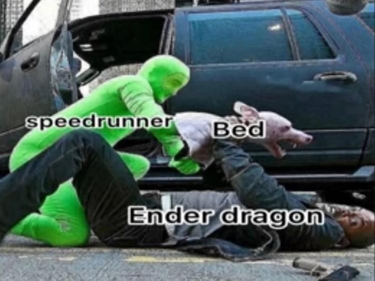 speedrunner - meme