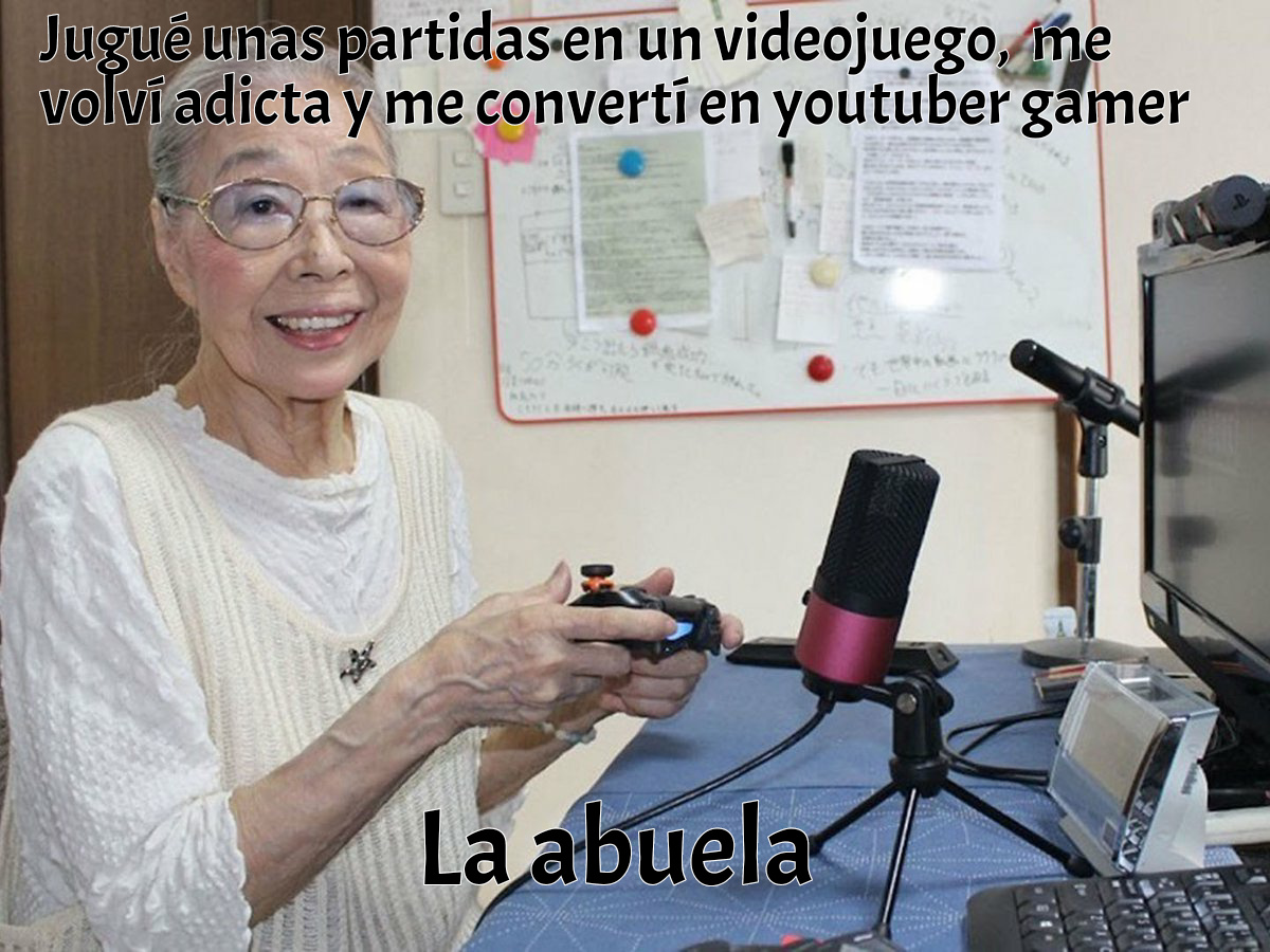 Jaja malardo :happy: un pequeño resumen de esta mujer gamer :) - meme