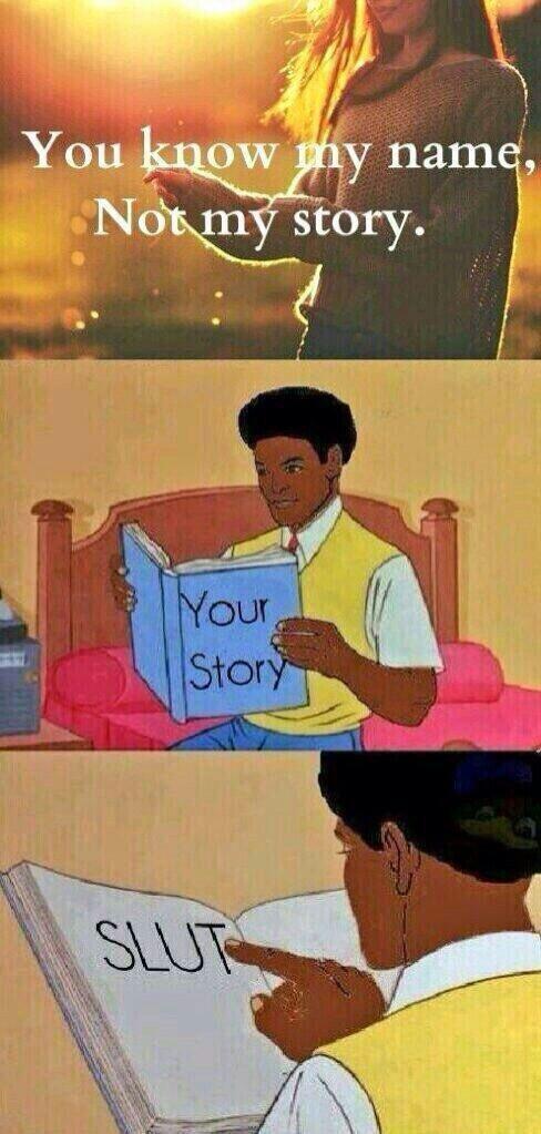 My story? - meme