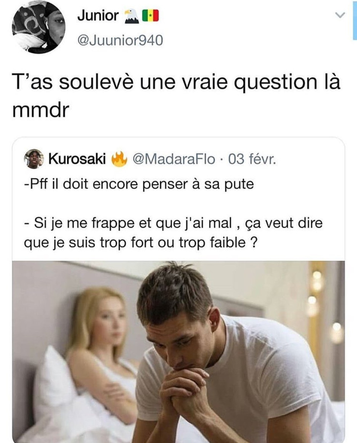 Bonne question... - meme