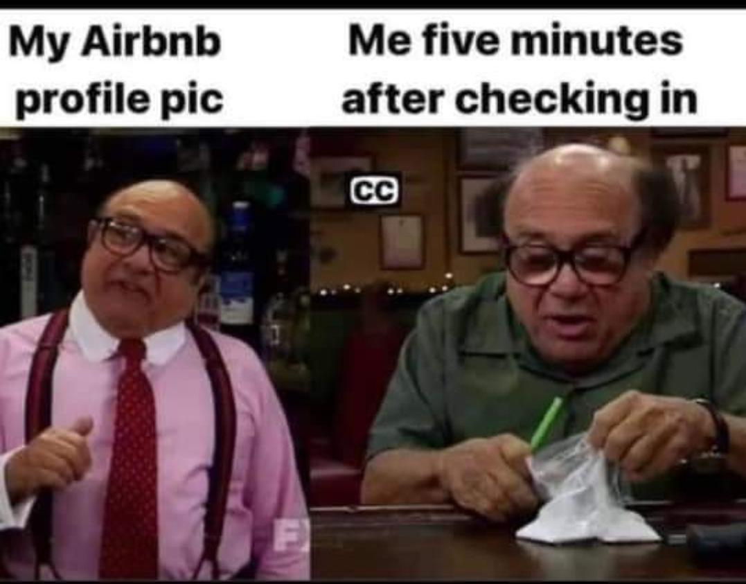 Air bnb - meme