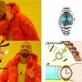 Es un reloj de monos