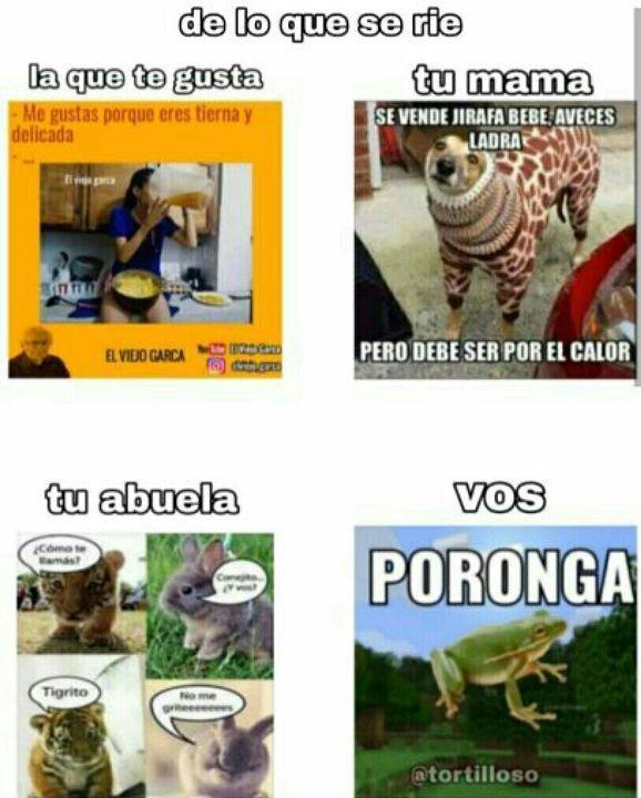 PORONGA - meme